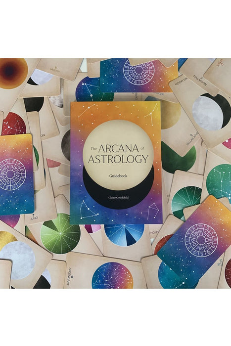 The Arcana Of Astrology Boxed Set: Oracle Deck And Guidebook For Cosmic Insight By Claire Goodchild
