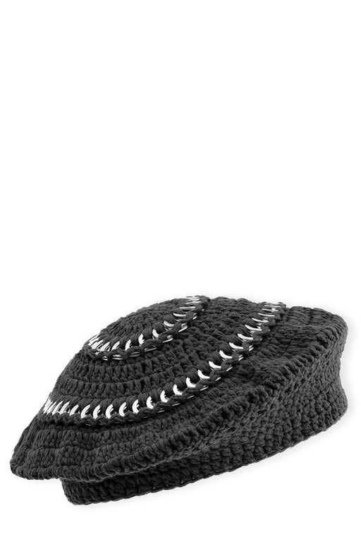 Cotton-Knit Beret