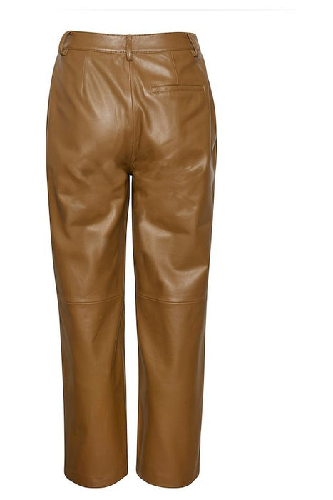 gestuz aliah leather culotte rubber bornadrag