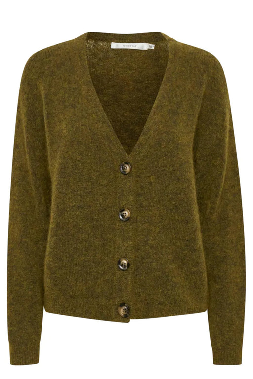 Debbie V-Neck Wool Cardigan