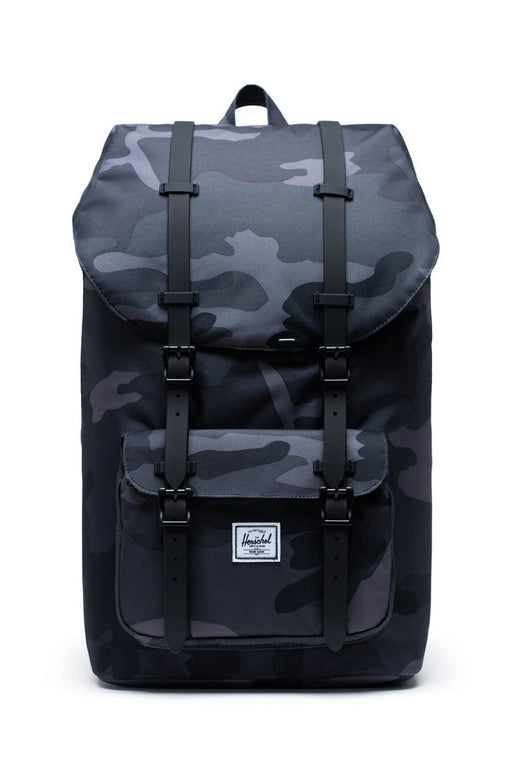 herschel little america backpack night camo hatizsak