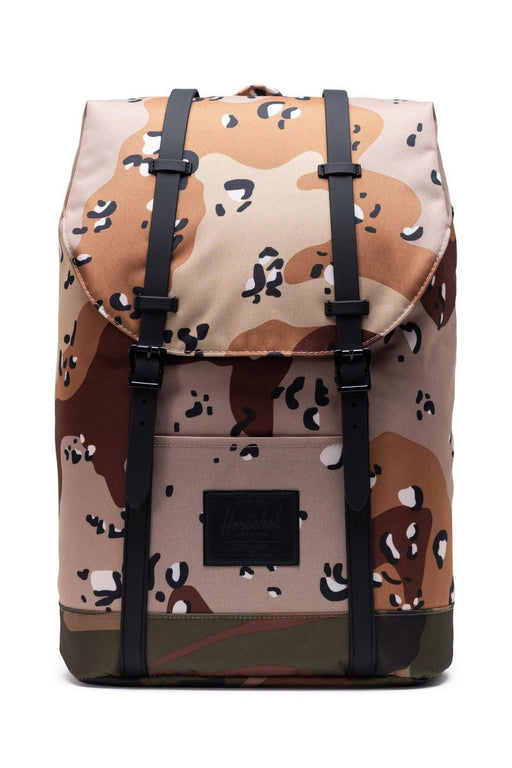 herschel retreat backpack desert camowoodland camo hatizsak