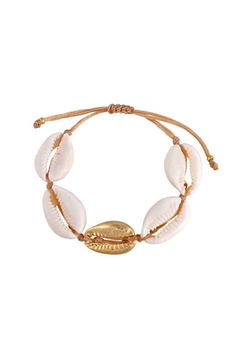 The Cowrie Shell Bracelet