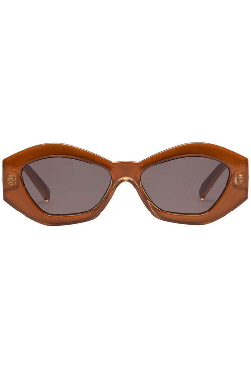 le specs the ginchiest sunglasses caramel napszemuveg