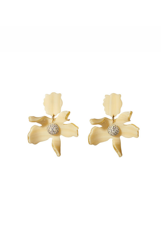 Crystal Lily Earrings