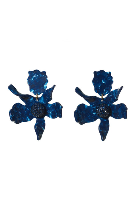 LELE SADOUGHI | Crystal Lily Pierced Earrings