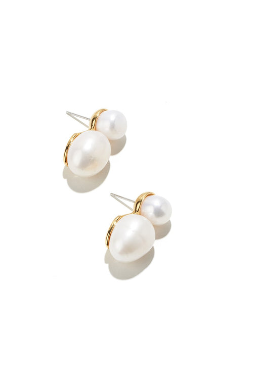 LELE SADOUGHI | Double Drop Pearl Earrings