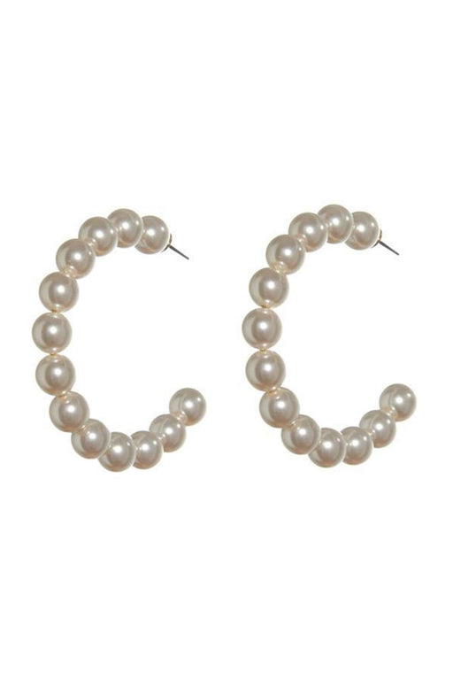 LELE SADOUGHI | Stardust Pearl Hoop Earrings