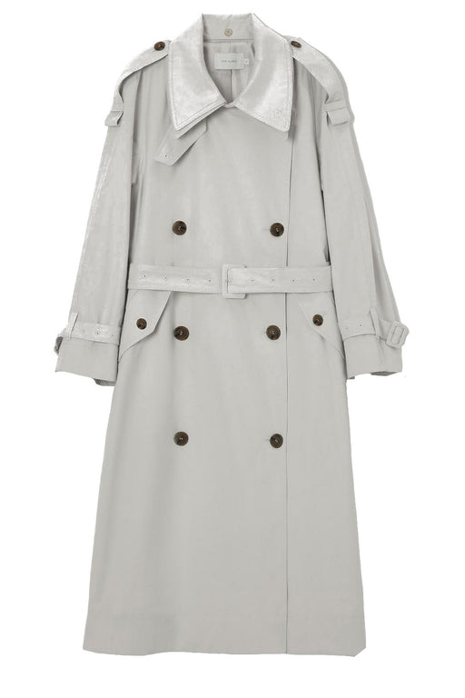 low classic classic trench coat light grey ballonkabat