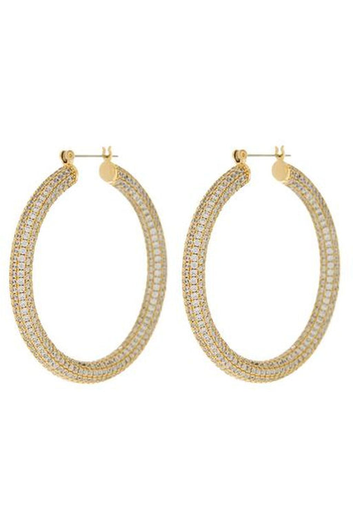 luv aj pave amalfi hoop earrings gold karikafulbevalo