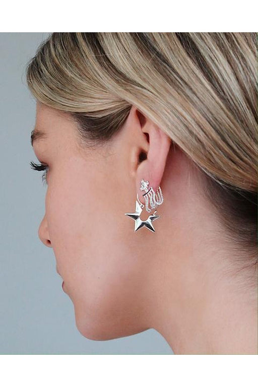 Starlight Huggie Earrings