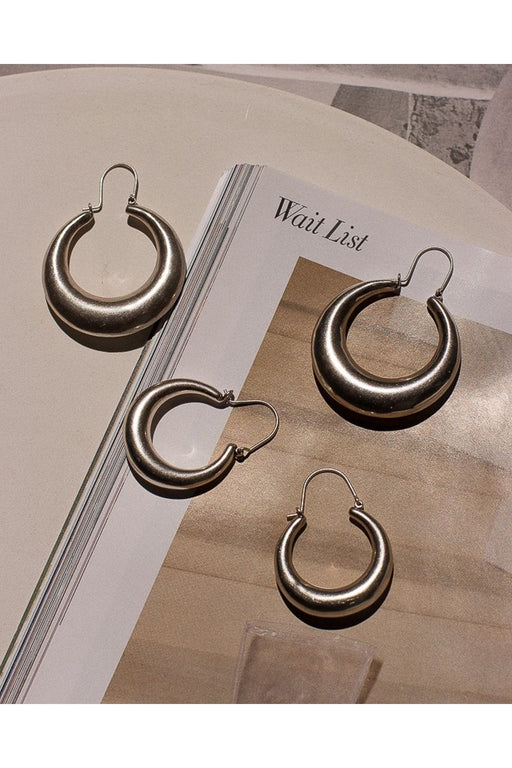 The Martina Tube Hoop Earrings