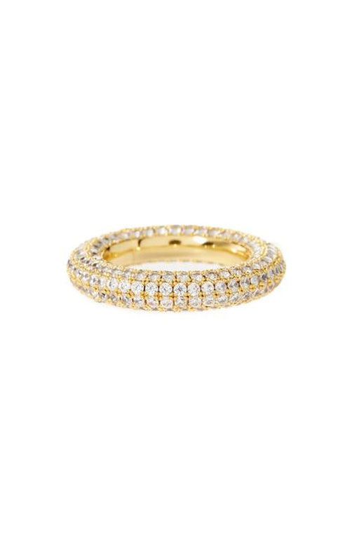 The Pave Baby Amalfi Ring