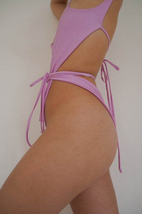 Heads One Piece Pink Opal Swimsuit