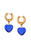 mayol jewelry heart of glass earrings blue fulbevalo