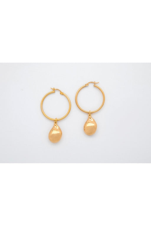 mirit weinstock hoops pearls ornament earrings gold karikafulbevalo