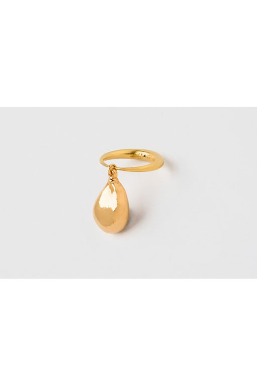mirit weinstock ring with a pearl gold gyuru