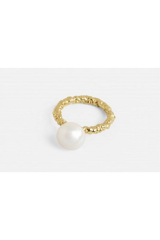 mirit weinstock sparkling ring with a pearl gold gyuru