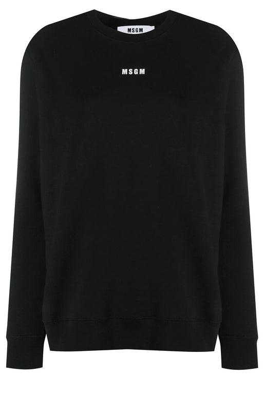 Sweatshirt With Micro Logo