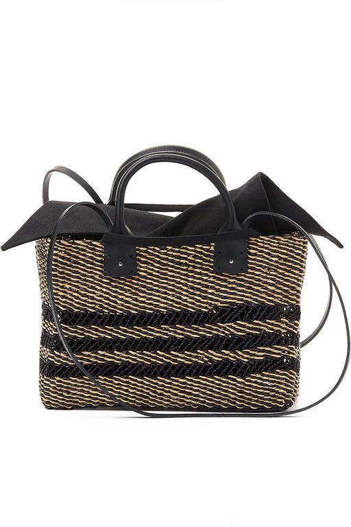 Carrie Straw Tote Bag