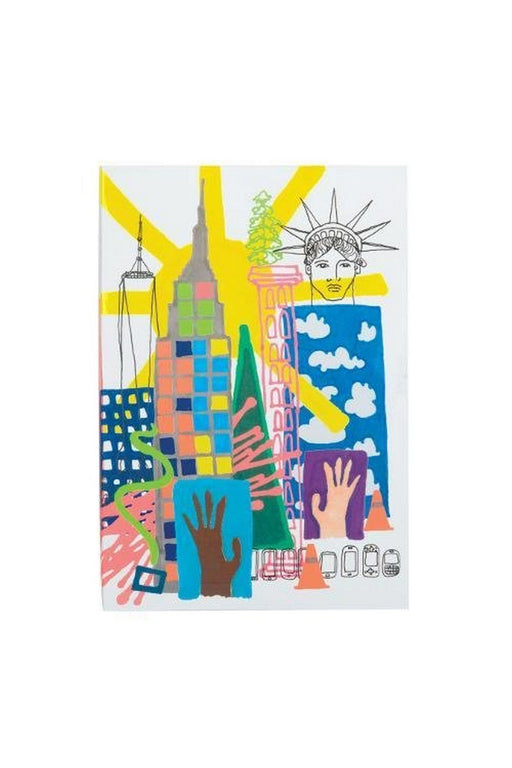 new york a5 softcover notebook by christian lacroix jegyzetfuzet