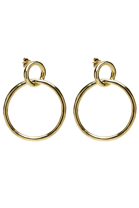 p d paola valentina gold earrings fulbevalo