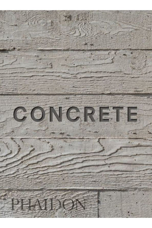 phaidon concrete mini format by william hall angol nyelvu konyv