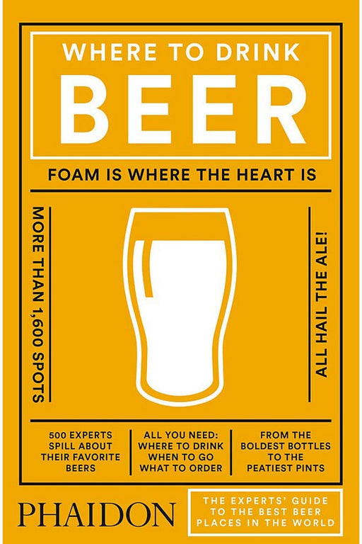 phaidon where to drink beer by jeppe jarnitbjergs angol nyelvu konyv