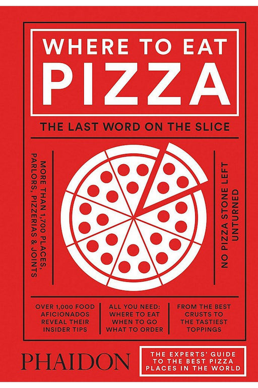 phaidon where to eat pizza by daniel young angol nyelvu konyv