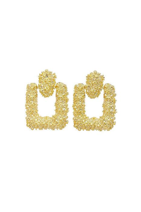 Pandemonium Gold Earrings
