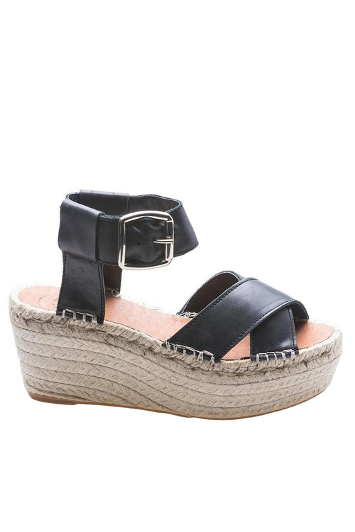 Alohas Kailua Wedge Sandals Black