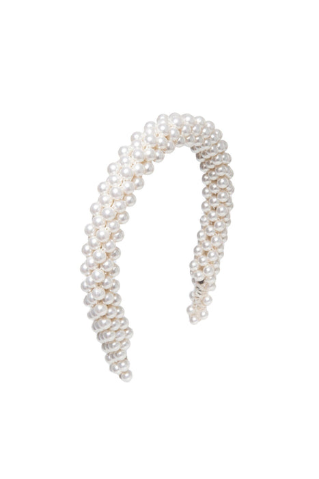 shrimps antonia pearl headband cream gyongyos hajpant