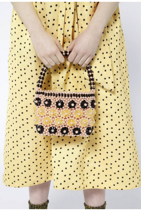 Shelly Beaded Bag
