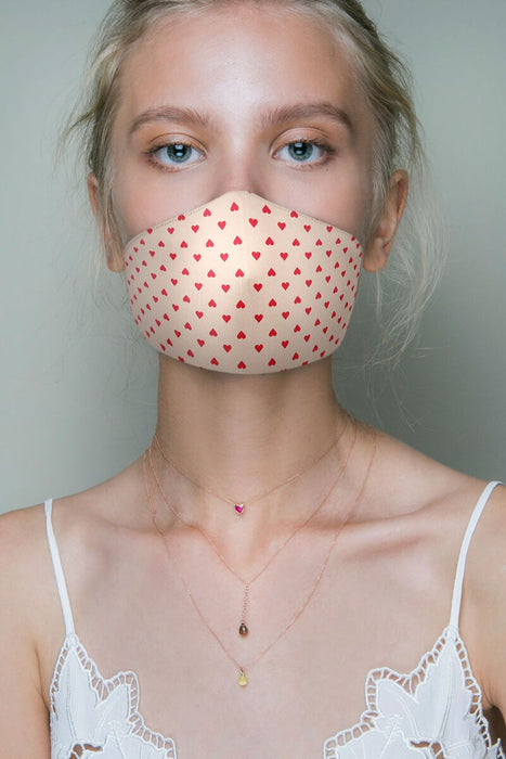 Hearts Protective Face Mask