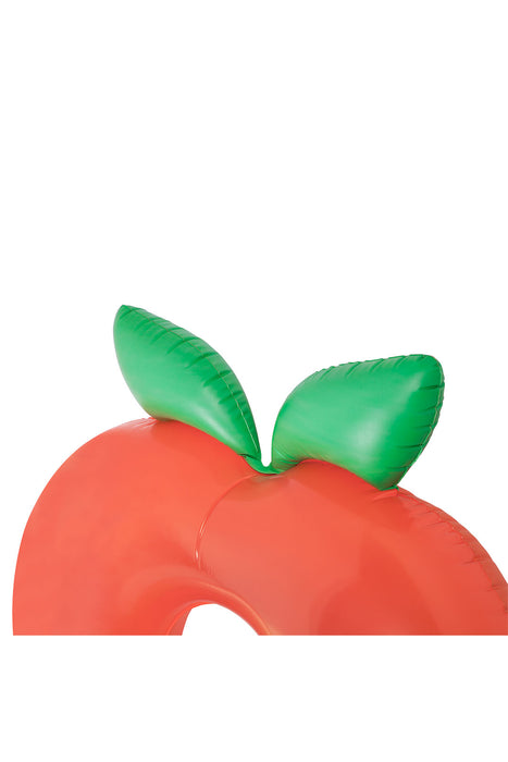 Giant Peach Luxe Pool Ring
