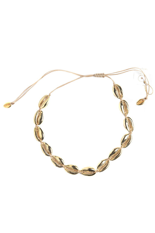 The Gold Cowrie Choker