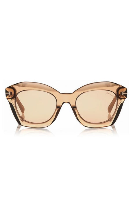 tom ford bardot sunglasses champagnelight brown mirror napszemuveg