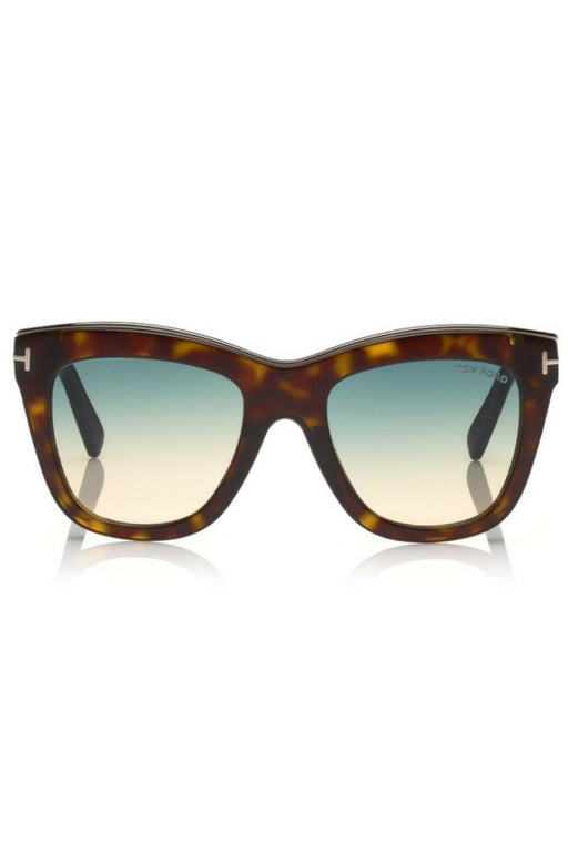 tom ford julie sunglasses havanablue gradient napszemuveg