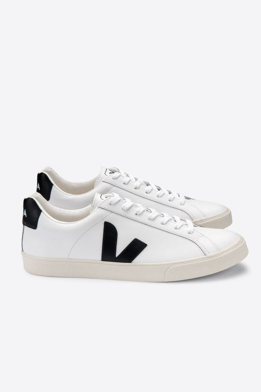 veja esplar leather sneakers extra whiteblack cipo