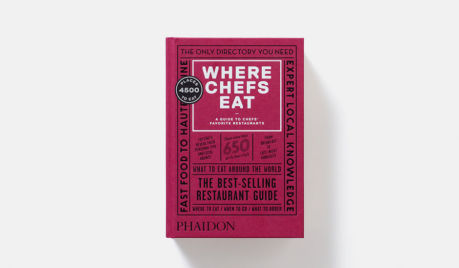Where Chefs Eat: A Guide To Chefs' Favorite Restaurants 3rd Edition By Joshua David Stein