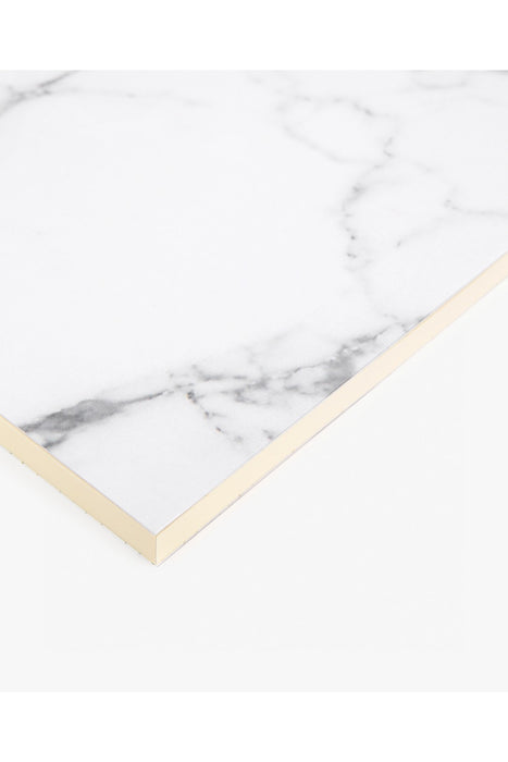 White Marble A6 Paper Notebook
