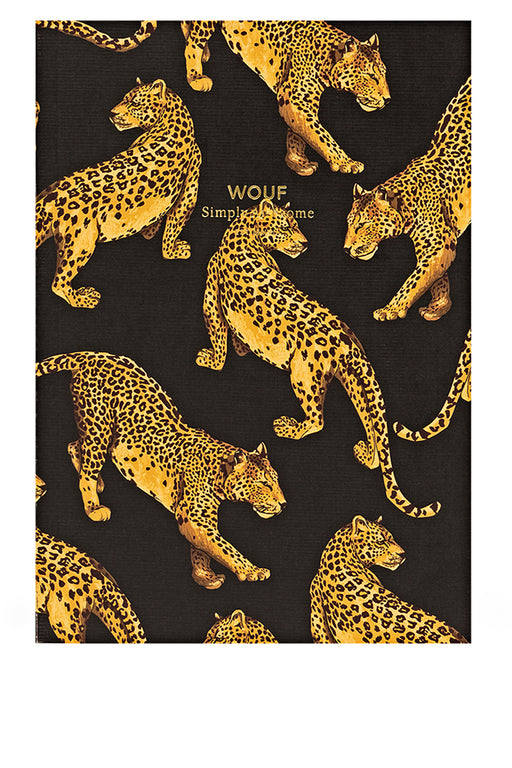 Black Leopard A5 Paper Notebook
