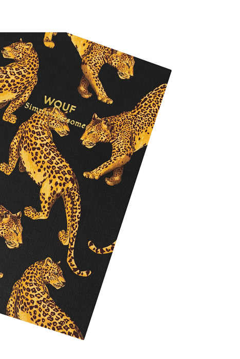 Black Leopard A6 Paper Notebook