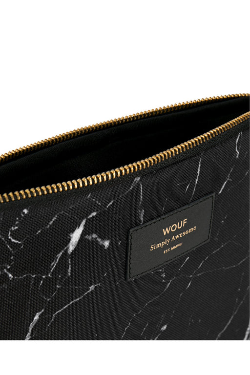 Black Marble iPad Sleeve