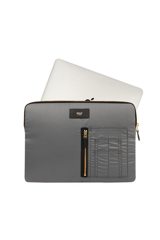 Grey Bomber Laptop Case