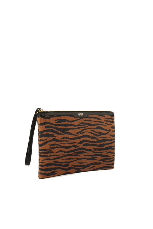 Tiger Night Clutch