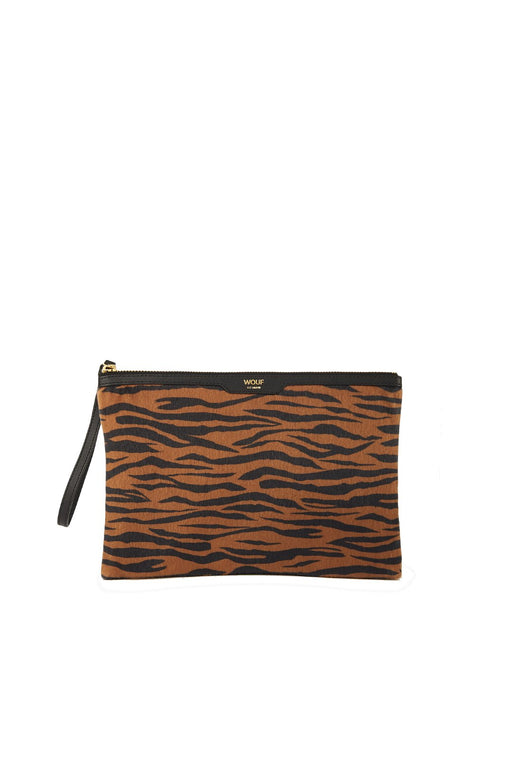 wouf tiger night clutch cipzaros taska