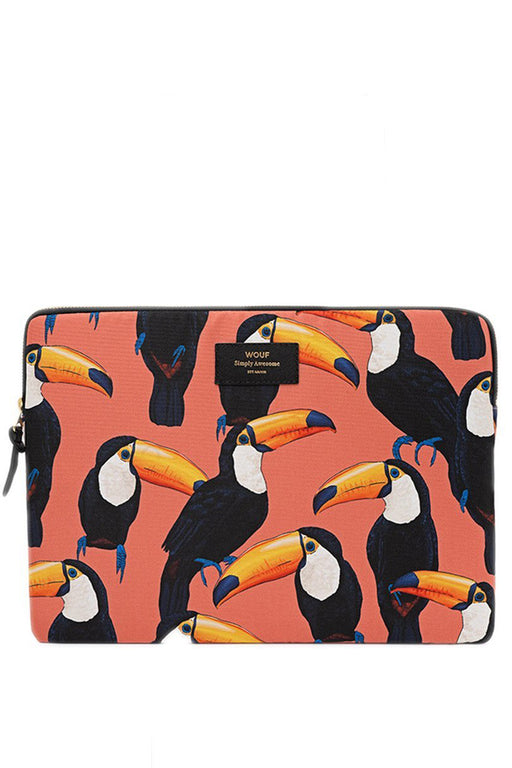 "WOUF | Toco Toucan 15"" Laptop Case"