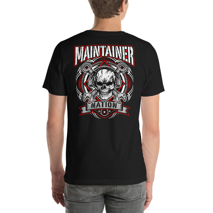 Red & Black MX Design Shirt