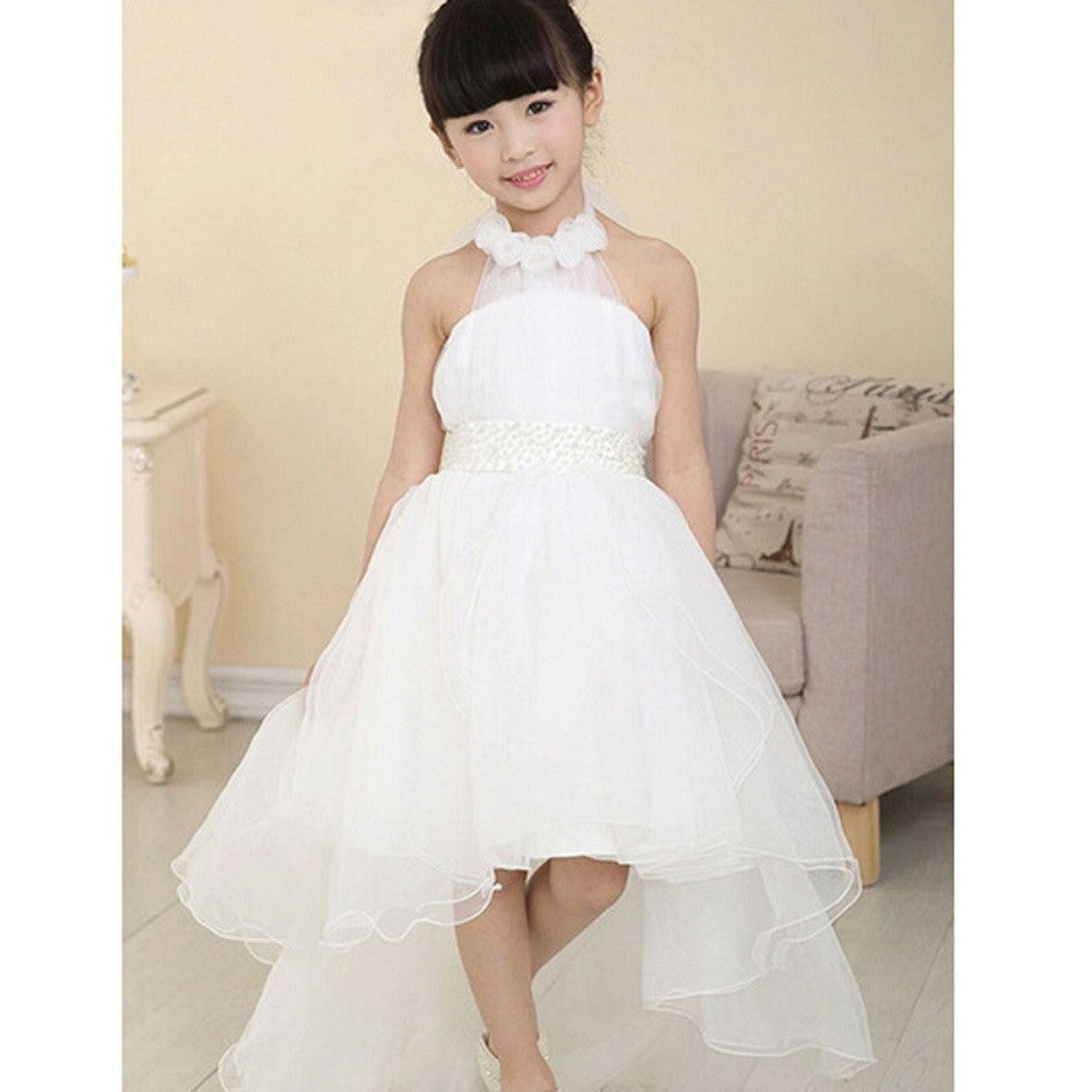 Flower Girl Princess Dresses for weddings and Party Pageant Wedding Bridesmaid Tutu Dresses Kids Prom Dress vestito bimba